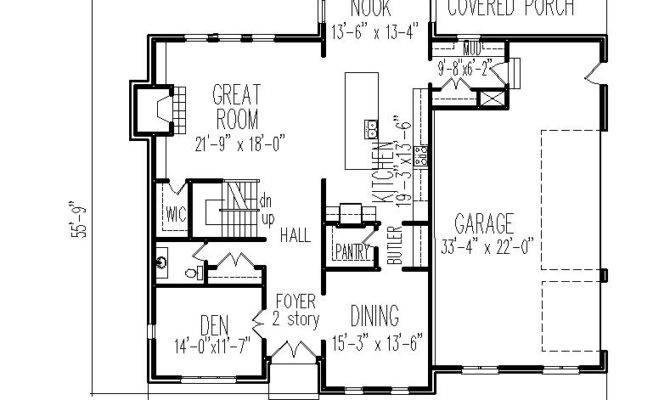 Story Beach House Plans Homes Floor