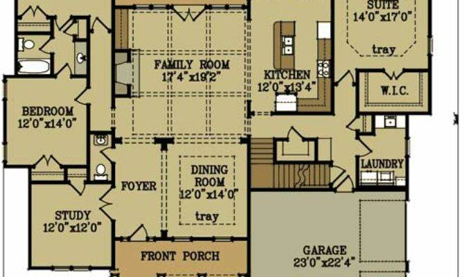 Story Bedroom Brick House Plan Max Fulbright Designs