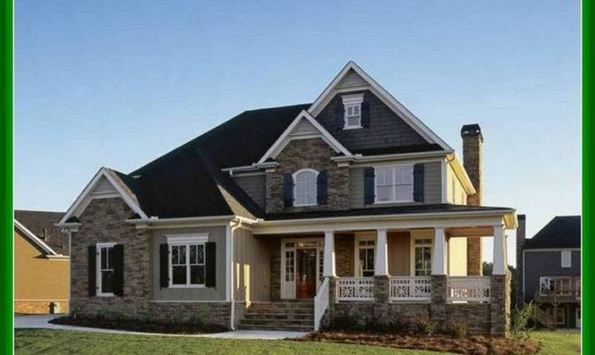 Story Brick House Plans