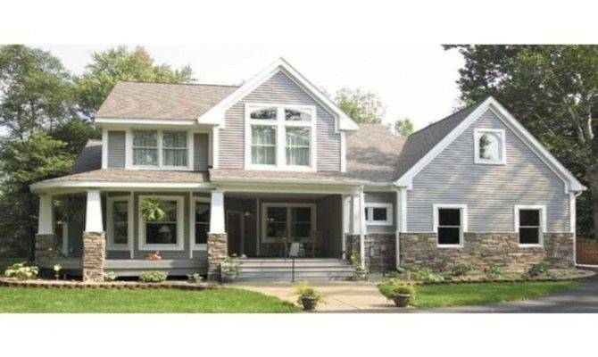 Story Craftsman Farmhouse House Plan
