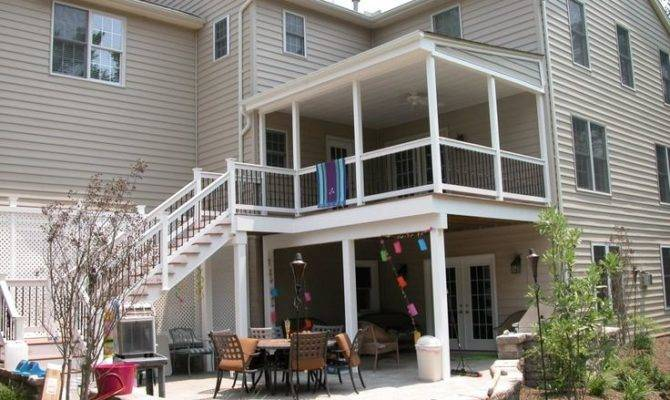 Story Deck Could Have Private Balcony Master