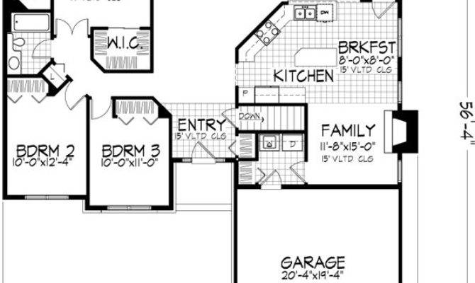 Story Floor Plans Without Garage Gurus