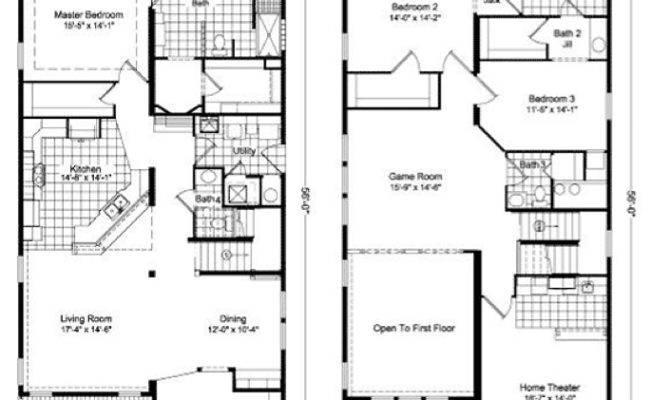 Story Home Design Plans Deco