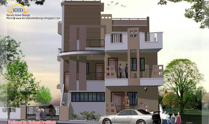 Story House Plan Elevation Kerala