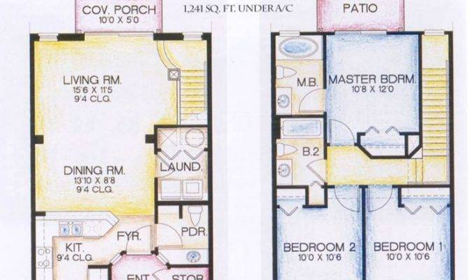 Story House Plans Displaying Luxury Gorgeous Modern