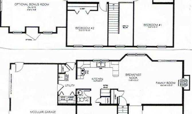 Story House Plans Square Feet Bedroom