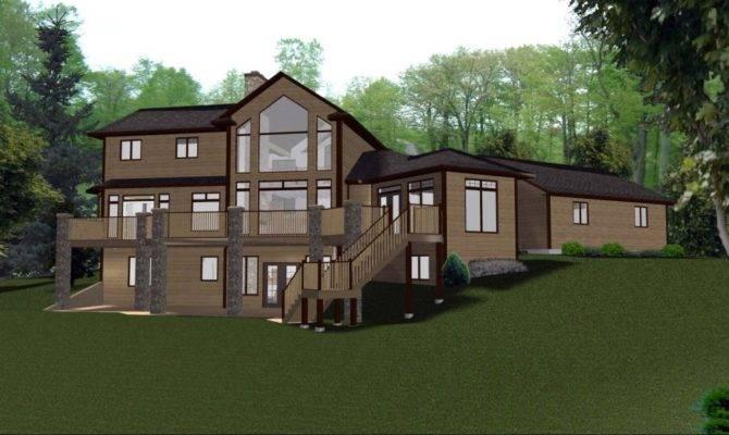 Story House Plans Walkout Basement Beautiful