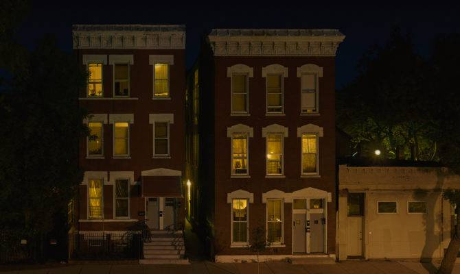 Story Night Residential Apartment Buildings
