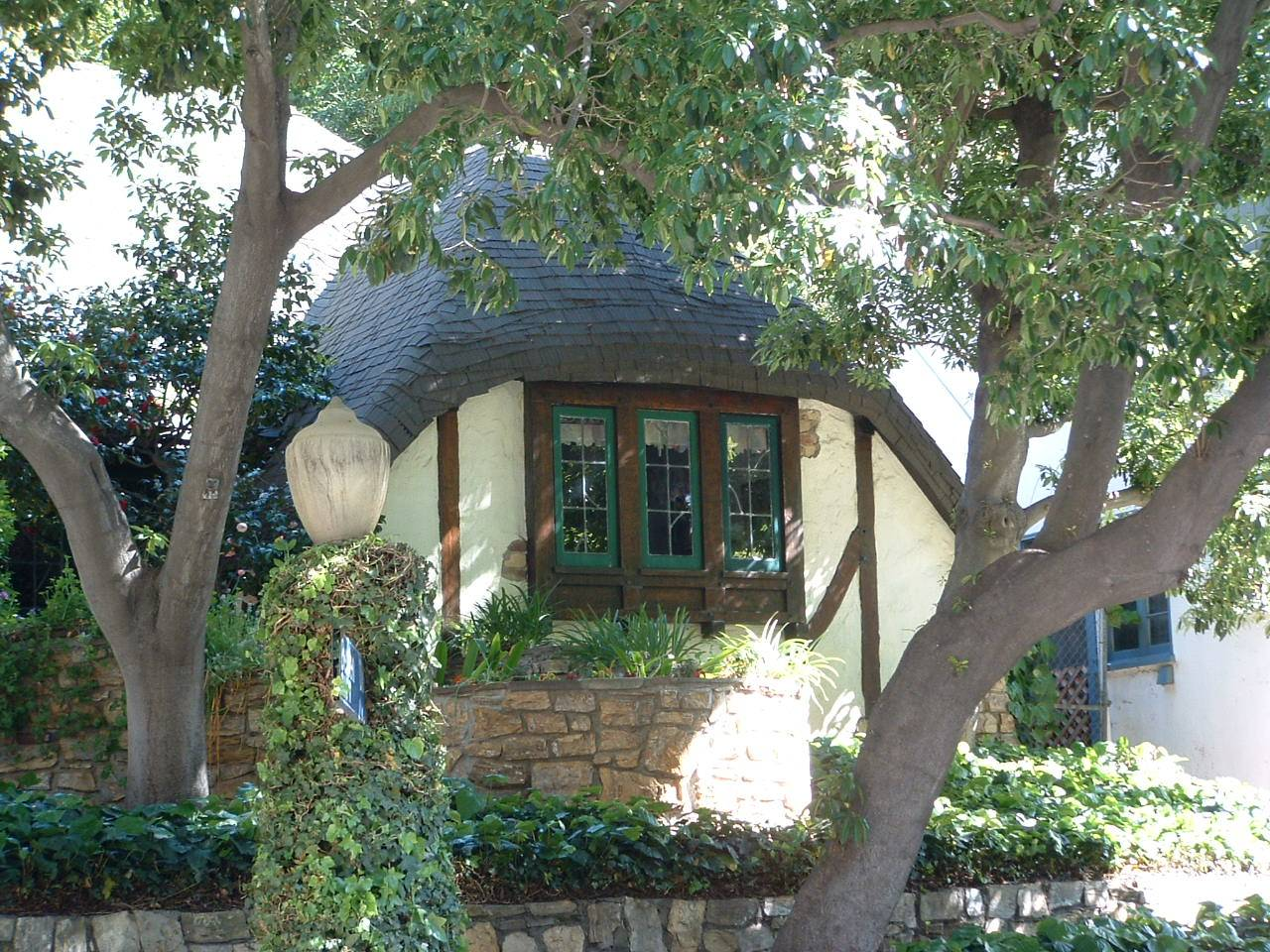 Storybook Cottage Detail