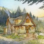 Storybook Cottage Style Home Plans Unique House