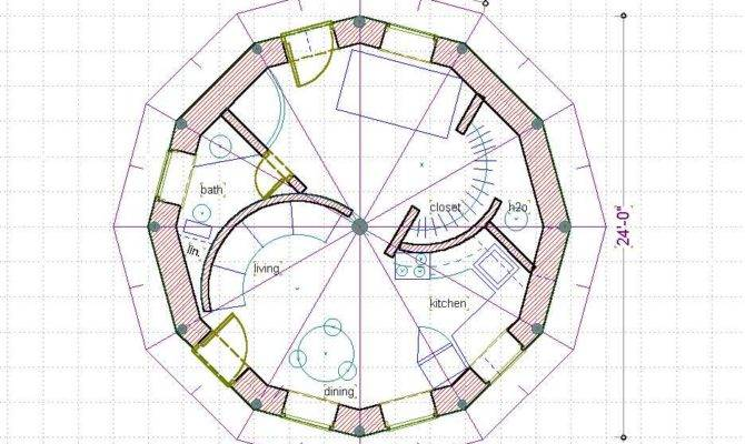 Straw Bale House Floor Plans