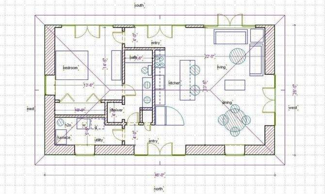 Straw Bale House Plan Dream Pinterest