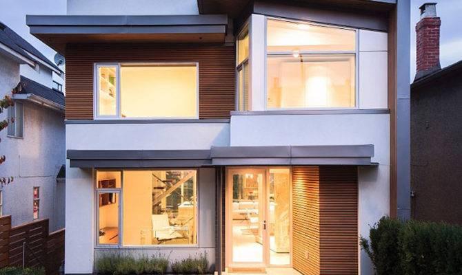 Stucco Modern Vancouver Houses