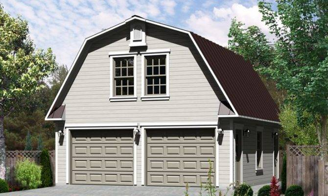 Studio Apartment Plans Barn Style Car Garage