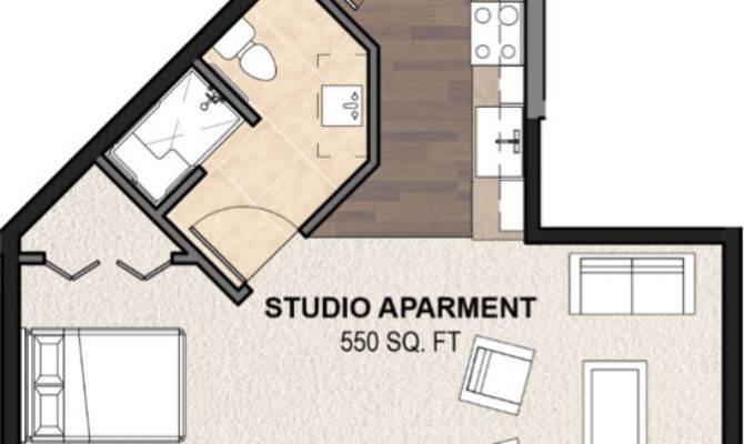 Studio Apt Floor Plan Highland Park Senior Living