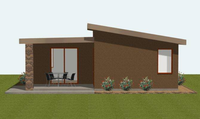 Studio Modern Guest House Plan