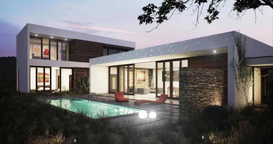 Studio Modern Home Plan