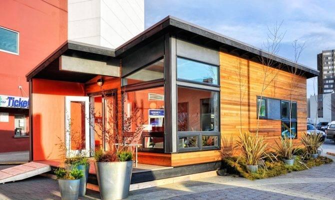 Studio Modern Prefab Cottage Small Living