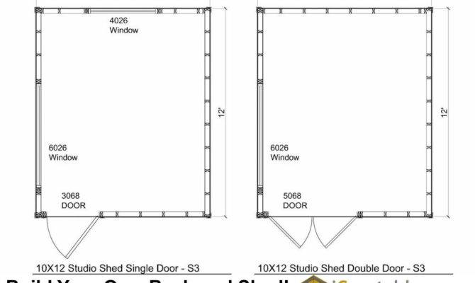 Studio Shed Plans Office
