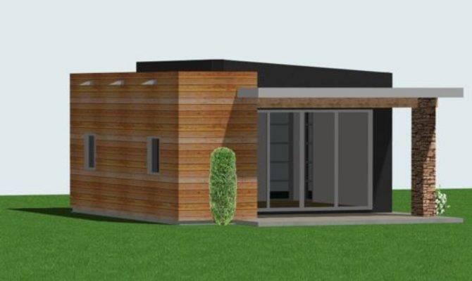 Studio Tiny Guest House Plan Custom Contemporary