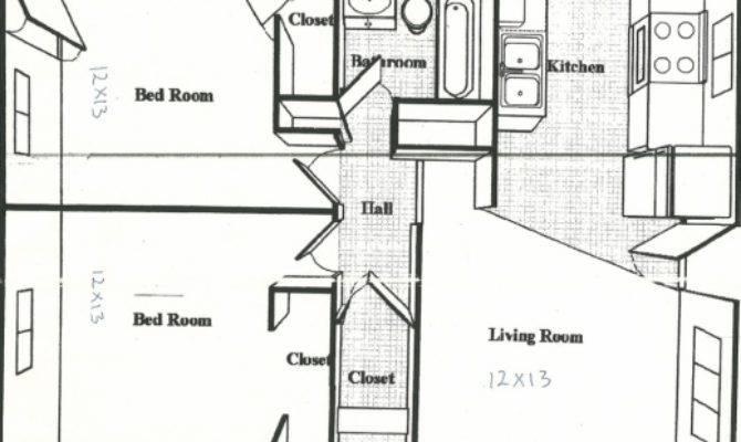 Stunning Bedroom House Plans Square Feet