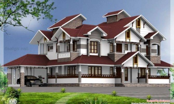 Stunning Bedroom Luxury House Design Kerala Home
