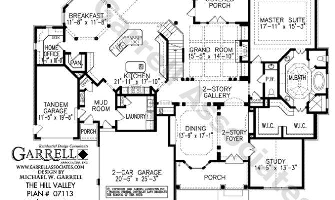 Stunning Hill Country Style House Plans Design