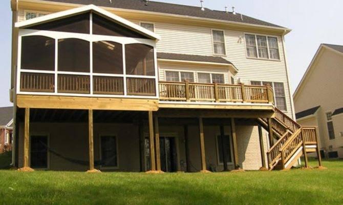 Stunning Home Deck Designs Ideas House Plans