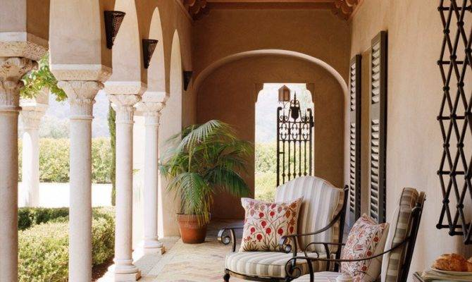 Stunning Mediterranean Porch Designs Fall