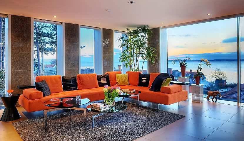Stunning Modern Ocean Home Open Floor Plan