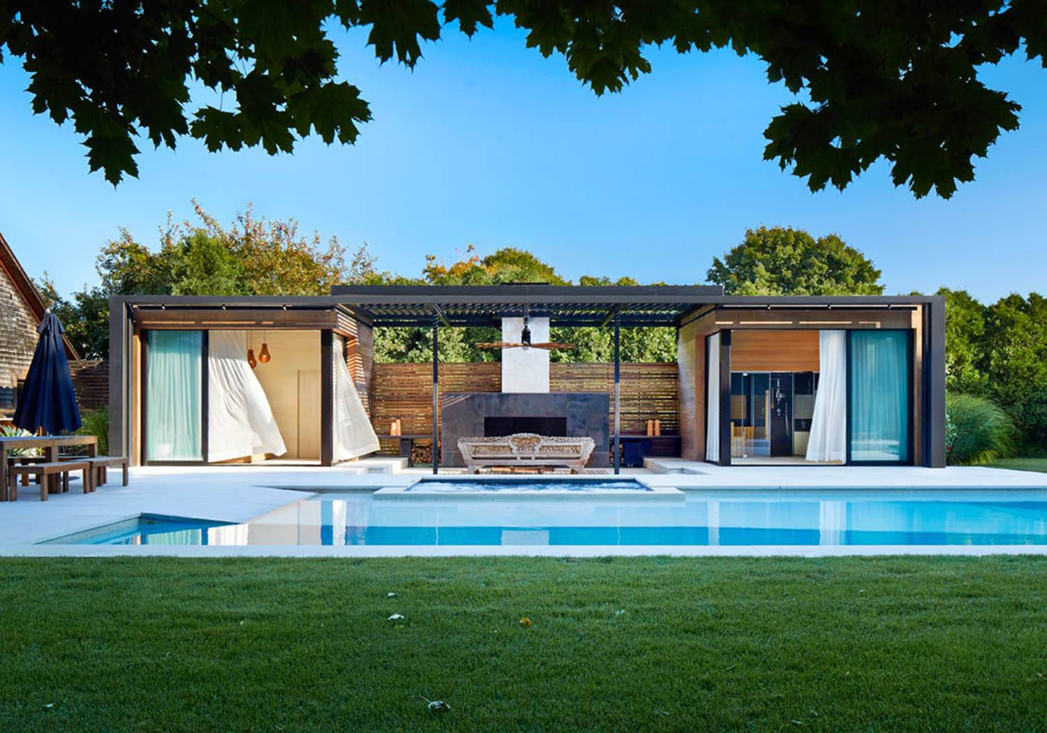 Stunning Pool Houses Cool Down Your Summer