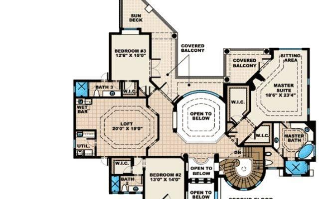 Stunning Tuscan House Plan Architectural