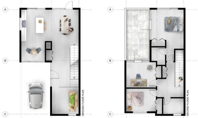 Stunning Urban Infill House Plans