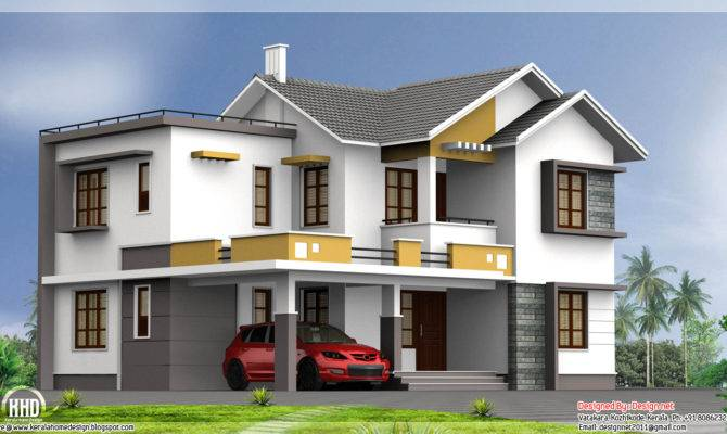 Style Bhk House Design Vatakara Kozhikkode Kerala