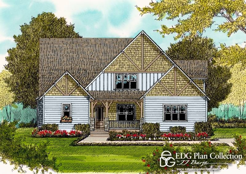 Style Craftsman Bungalow Clever Home Plan