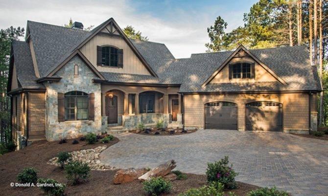 Style House Plan Craftsman Ranch Walkout Basement