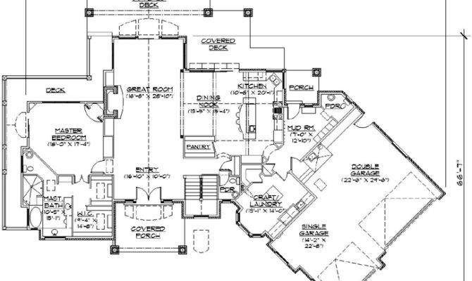 Style House Plans Square Foot Home Story