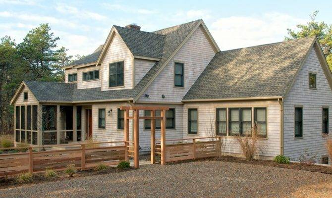 Substantial Remodel Addition Wooded Wellfleet