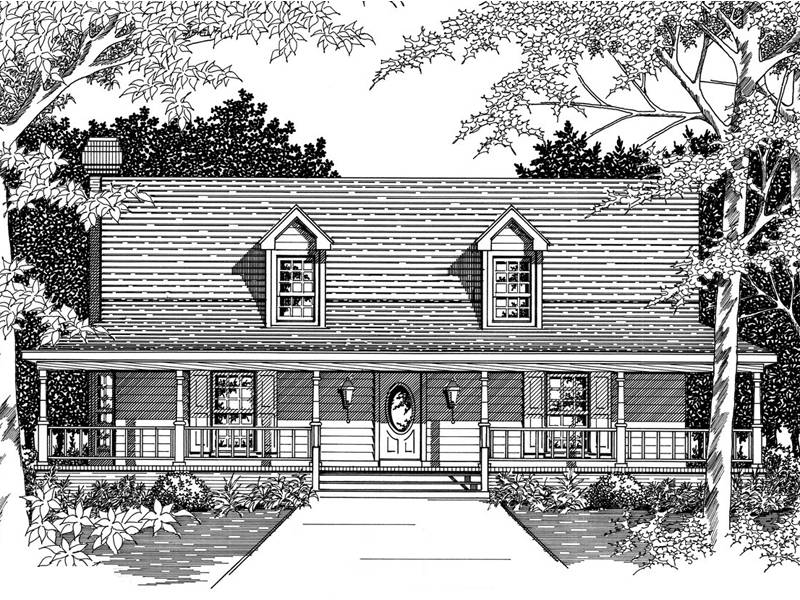 Sugar Pine New England Home Plan House Plans More