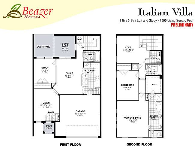 Sumerlin Bartram Park Townhomes Terrace Homes