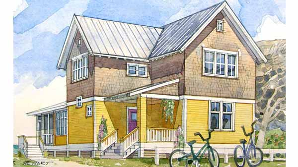 Summer Cottage Coastal Living Southern House Plans