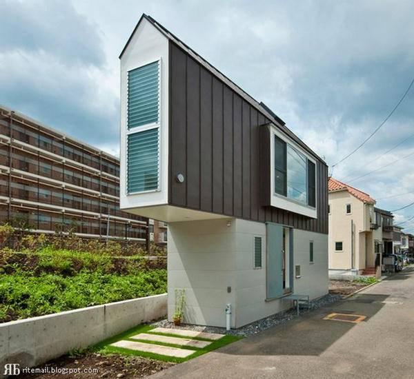 Super Slim House Tokyo Japan