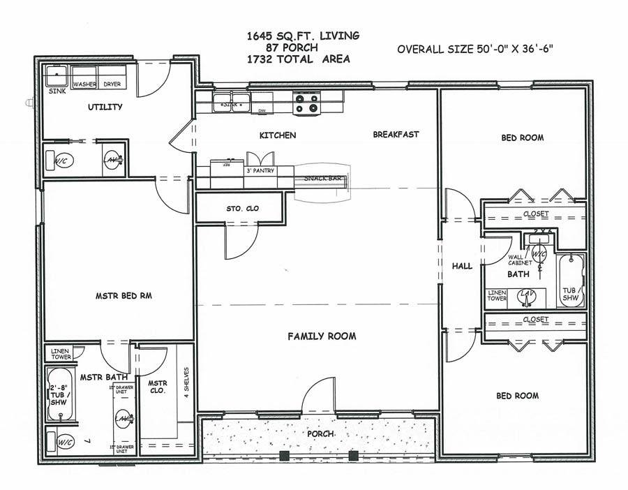 Superb American Home Plans Square House Floor