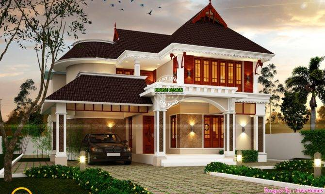 Superb Dream House Plan Kerala Home Design Floor Plans