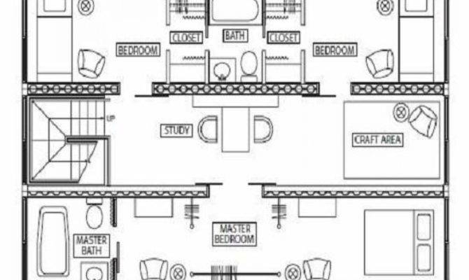 Superb Storage Container House Plans Home