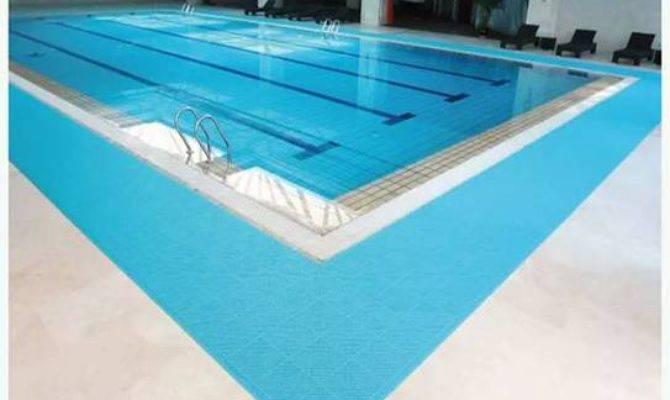 Swimming Pool Floor Mat Vinyl Flooring Tile