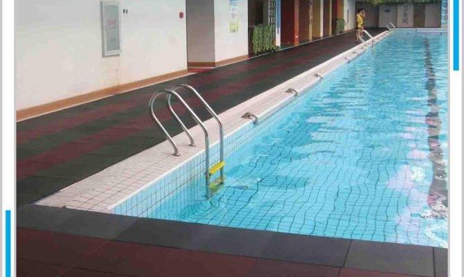 Swimming Pool Rubber Flooring Garage Gym Children