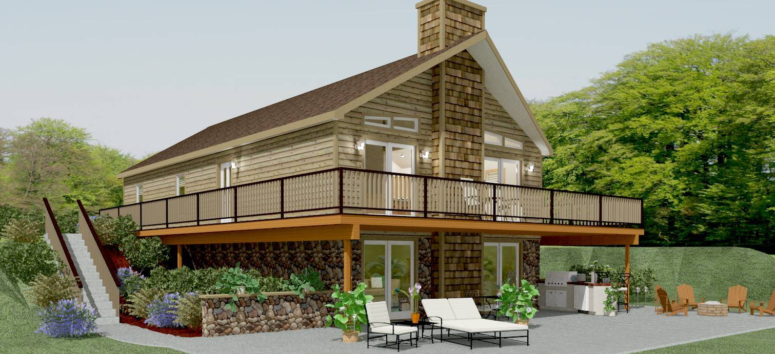 Swiss Cottage House Plans
