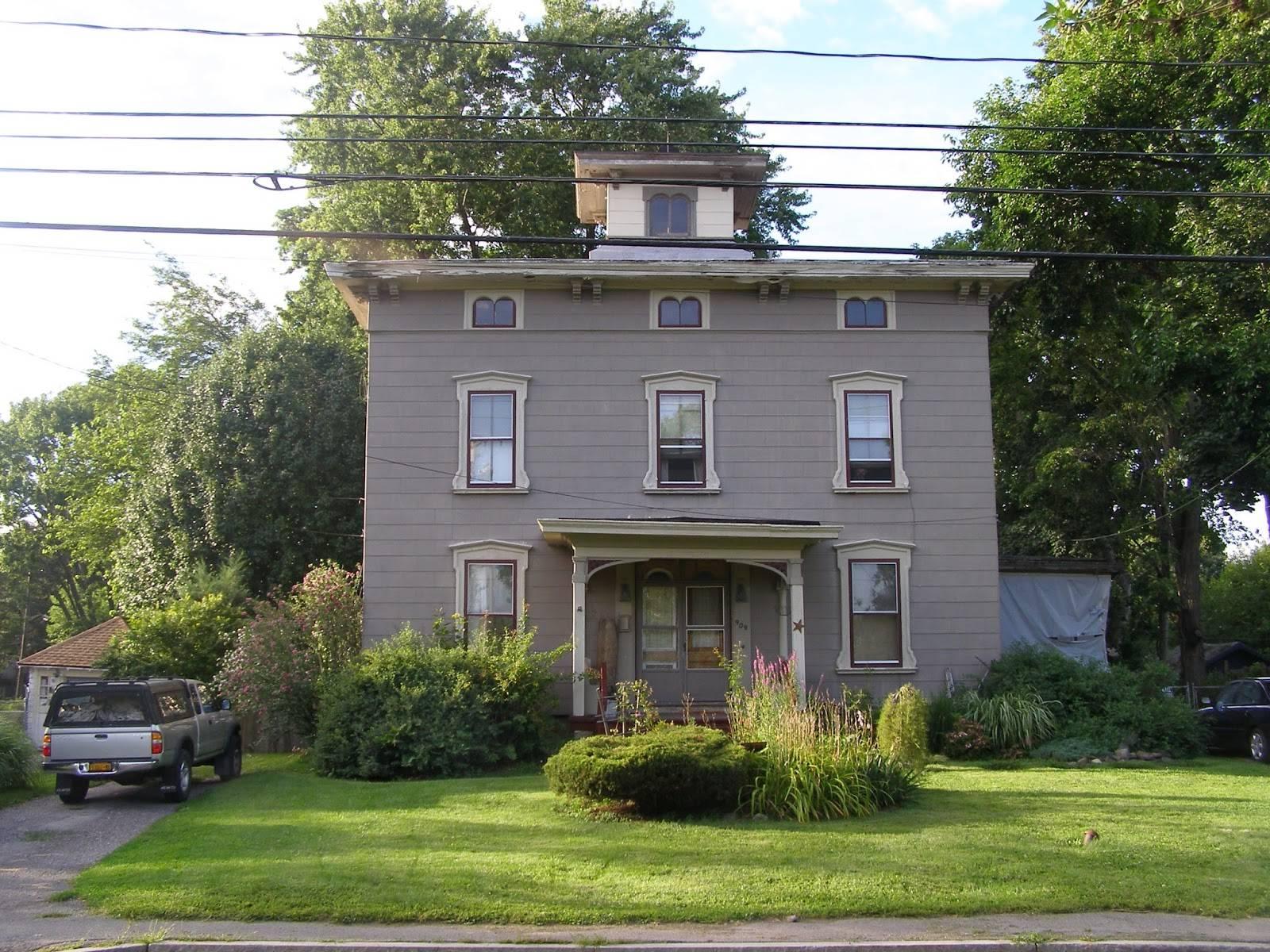 Syracuse Salt Springs Italianate House Mid Century