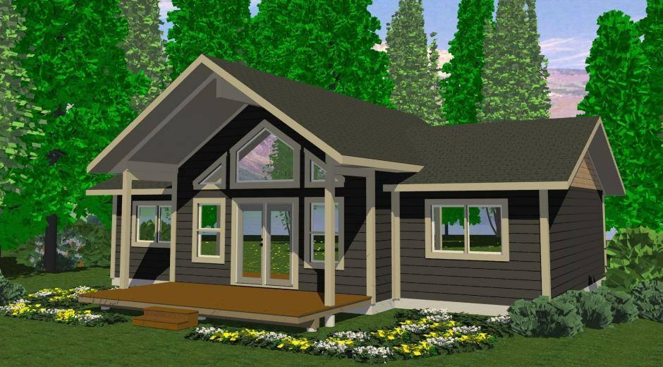 Tabor Prefab Cabin Cottage Plans Winton Homes